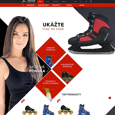 E-shop s bruslemi
